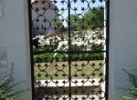 Porte de jardin XVIème création