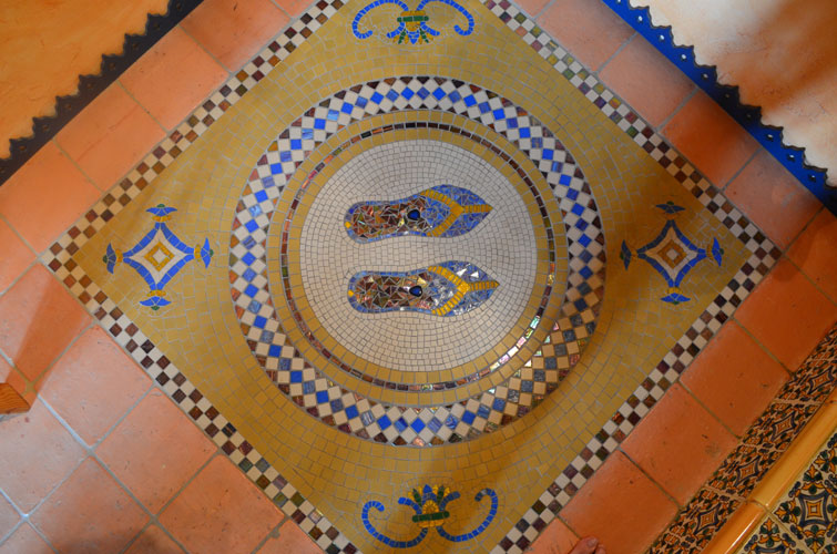 décors frise mosaïque émaux