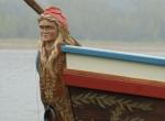 proue gabarot (bateau de Loire, chêne)
