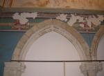 Restauration des décors peints dans l'église de Chambellay ( avant intervention)