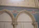 Restauration des décors peints dans l'église de Chambellay (après intervention)