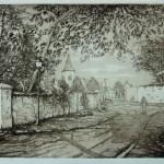 Gravure Seine-et-Marne - Serge Terzakian